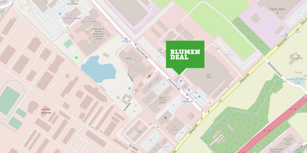 Blumendeal Aachen - Neuenhofstraße 191 52078 Aachen